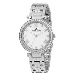 Stainless Steel Womens''s Silver Watch - DK.1.12266-1 preview