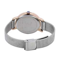 Stainless Steel Womens''s Silver Watch - DK.1.12267-4 preview