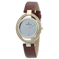 Leather Womens''s Brown Watch - DK.1.12269-5