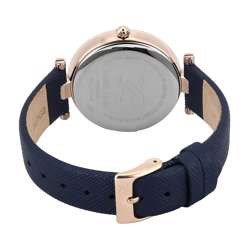 Leather Womens''s Blue Watch - DK.1.12270-3 preview
