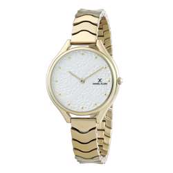 Stainless Steel Womens''s Gold Watch - DK.1.12271-2 preview