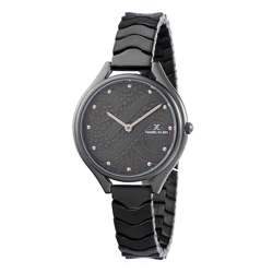 Stainless Steel Womens''s Black Watch - DK.1.12271-5 preview