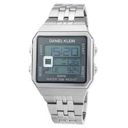 Stainless Steel Mens''s Silver Watch - DK.1.12274-2 preview