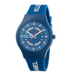 Silicone Mens''s Blue Watch - DK.1.12275-2 preview