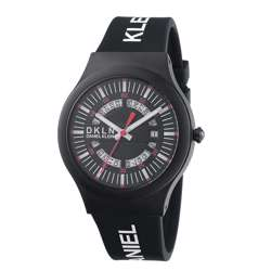 Silicone Mens''s Black Watch - DK.1.12275-3 preview