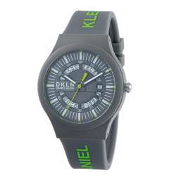 Silicone Mens''s Grey Watch - DK.1.12275-4 preview
