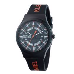 Silicone Mens''s Black Watch - DK.1.12275-9 preview
