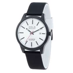 Silicone Mens''s Black Watch - DK.1.12276-2