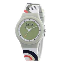 Silicone Womens''s Rainbow Watch - DK.1.12277-8