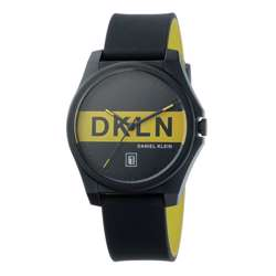 Silicone Mens''s Black Watch - DK.1.12278-1 preview