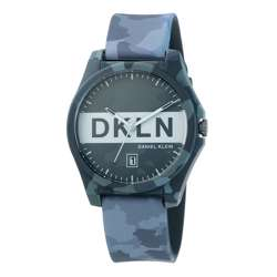 Silicone Mens''s Black Watch - DK.1.12278-6