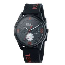 Silicone Mens''s Black Watch - DK.1.12279-1 preview