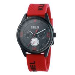 Silicone Mens''s blue Watch - DK.1.12279-4 preview