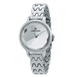 Stainless Steel Womens''s Silver Watch - DK.1.12280-1 preview