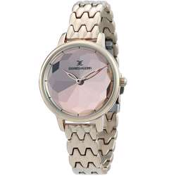 Stainless Steel Womens''s Rose Gold Watch - DK.1.12280-5 preview