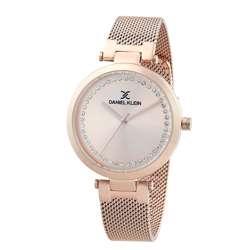 Mesh Band Womens''s Rose Gold Watch - DK.1.12282-3