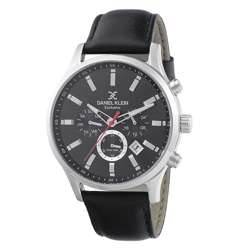 Leather Mens''s Black Watch - DK.1.12284-2 preview