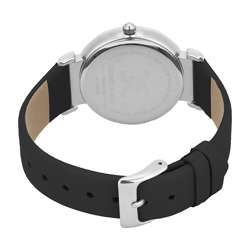 Leather Womens''s Black Watch - DK.1.12285-1 preview