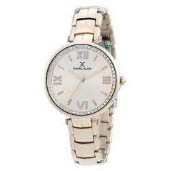 Stainless Steel Womens''s Rose Gold Watch - DK.1.12286-2 preview
