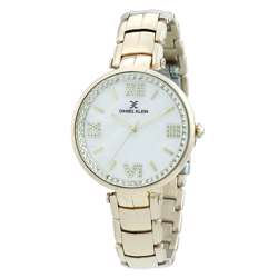 Stainless Steel Womens''s Gold Watch - DK.1.12286-3