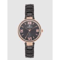 Stainless Steel Womens''s Black Watch - DK.1.12286-6 preview