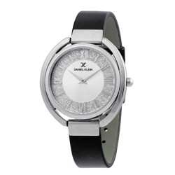 Leather Womens''s Black Watch - DK.1.12289-1 preview