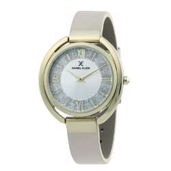 Leather Womens''s Beige Watch - DK.1.12289-2 preview