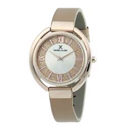 Leather Womens''s Creem Watch - DK.1.12289-4 preview