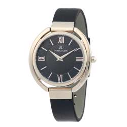 Leather Womens''s Black Watch - DK.1.12289-5 preview