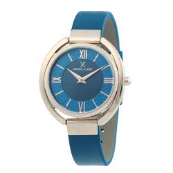 Leather Womens''s blue Watch - DK.1.12289-6 preview