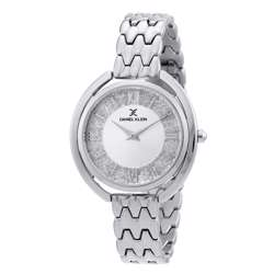 Stainless Steel Womens''s Silver Watch - DK.1.12290-1 preview