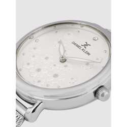 Mesh Band Womens''s Silver Watch - DK.1.12291-1 preview