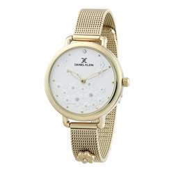 Mesh Band Womens''s Gold Watch - DK.1.12291-3 preview