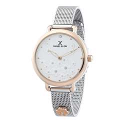 Mesh Band Womens''s Silver Watch - DK.1.12291-4 preview