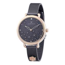 Mesh Band Womens''s Black Watch - DK.1.12291-6 preview