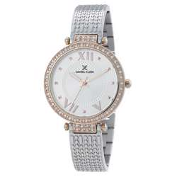 Stainless Steel Womens''s Two Tone Rose Watch - DK.1.12293-1 preview
