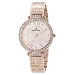 Stainless Steel Womens''s Rose Gold Watch - DK.1.12293-3 preview