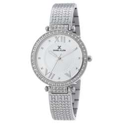 Stainless Steel Womens''s Silver Watch - DK.1.12293-4 preview