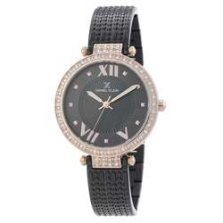 Stainless Steel Womens''s Black Watch - DK.1.12293-5 preview