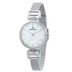 Mesh Band Womens''s Silver Watch - DK.1.12294-1 preview