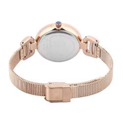 Mesh Band Womens''s Rose Gold Watch - DK.1.12294-4 preview