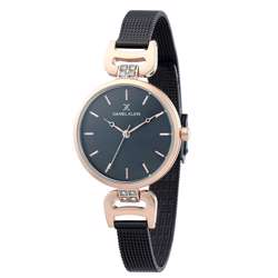 Mesh Band Womens''s Black Watch - DK.1.12294-5 preview