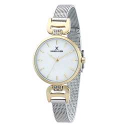 Mesh Band Womens''s Silver Watch - DK.1.12294-6 preview