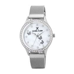 Mesh Band Womens''s Silver Watch - DK.1.12295-1 preview