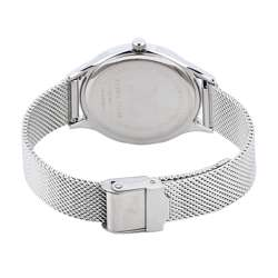 Mesh Band Womens''s Silver Watch - DK.1.12295-3 preview