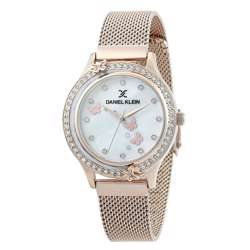 Mesh Band Womens''s Rose Gold Watch - DK.1.12295-4 preview