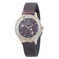 Mesh Band Womens''s Purple Watch - DK.1.12295-6 preview