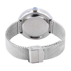 Mesh Band Mens''s Silver Watch - DK.1.12296-1 preview