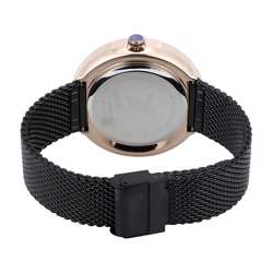 Mesh Band Mens''s Black Watch - DK.1.12296-2 preview