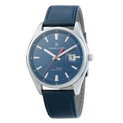 Leather Mens''s blue Watch - DK.1.12299-3 preview